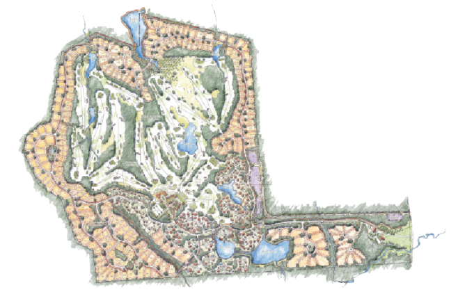 Bluejack National outline
