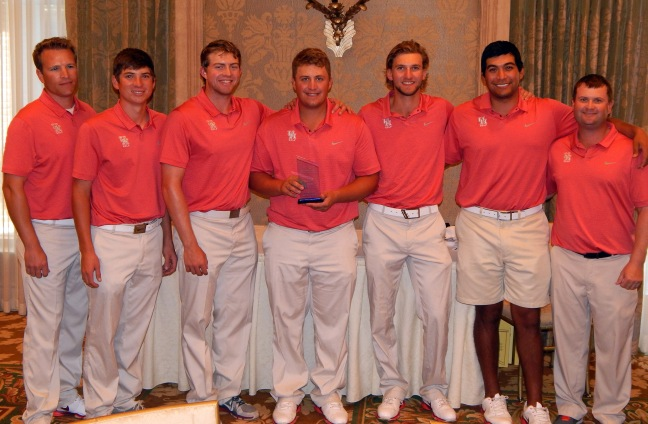 2014 UH men's golf Miramont